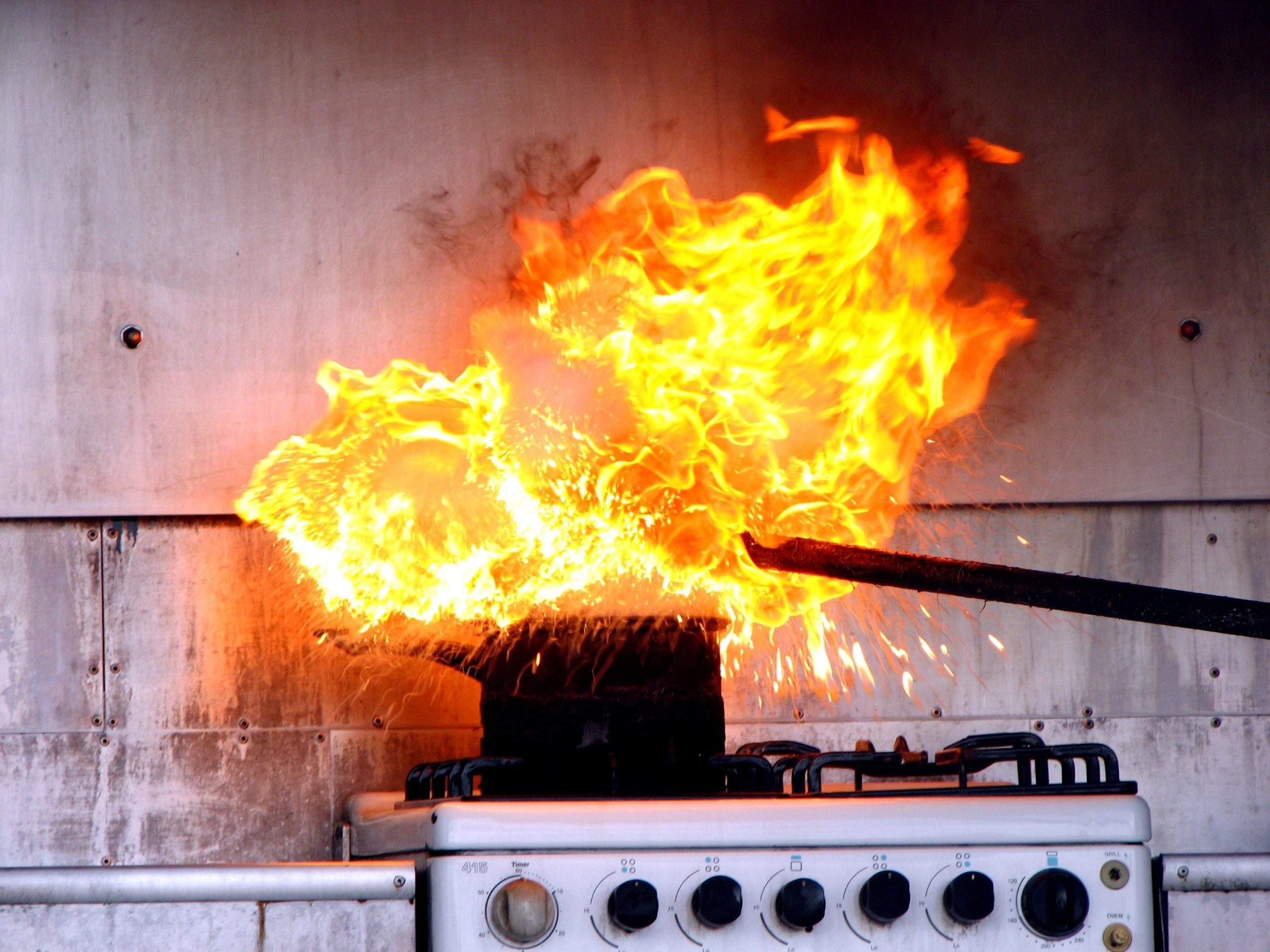 Kitchen Fire Damage from Common Cooking Incidents - Abbotts